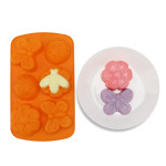 Soap Molds, Beasea 2pcs Bath Bomb Molds Insect Silicone Mold Butterfly Mold DIY Silicone Mold for Bath Bomb, Lotion Bars, Chocolate, Candy, Jello, Crayon, Baking Cupcake